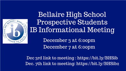 IB Informational Meeting